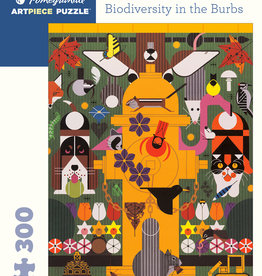 BIODIVERSITY IN THE BURBS 300 PIECE PUZZLE
