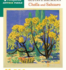 CHOLLA AND SAHUARO 500 PIECE PUZZLE