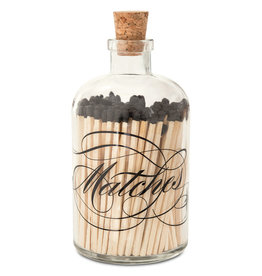 CALLIGRAPHY BLACK APOTHECARY LARGE MATCHES