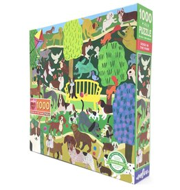 DOGS IN PARK PUZZLE