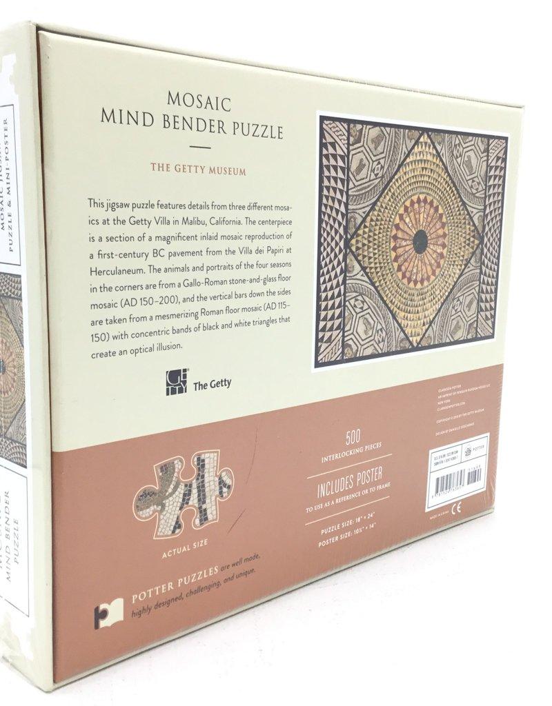 MOSAIC MIND BENDER PUZZLE