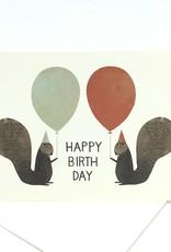 HAPPY BIRTHDAY SQUIRRELS