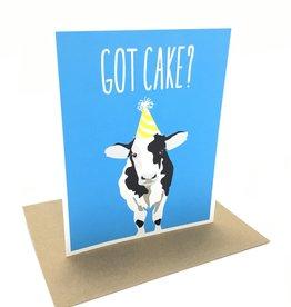 APARTMENT 2 CARDS COW GOT CAKE CC