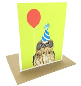 APARTMENT 2 CARDS BALLOON OWL CC