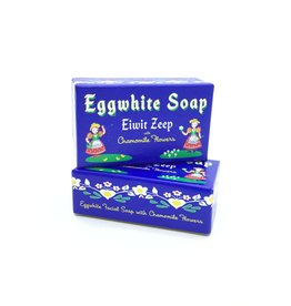 EGGWHITE  AND CHAMOMILE  FLOWER FACIAL SOAP