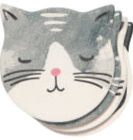 CATS MEOW SHAPED COASTER