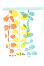 ILEE PAPERGOODS COLOR VINE HAPPY BIRTHDAY CC