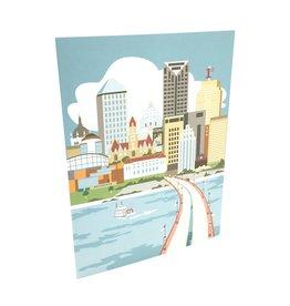 CINDY LINDGREN ST PAUL RIVER VIEW CARD