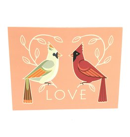 CINDY LINDGREN CARDINAL LOVE CARD