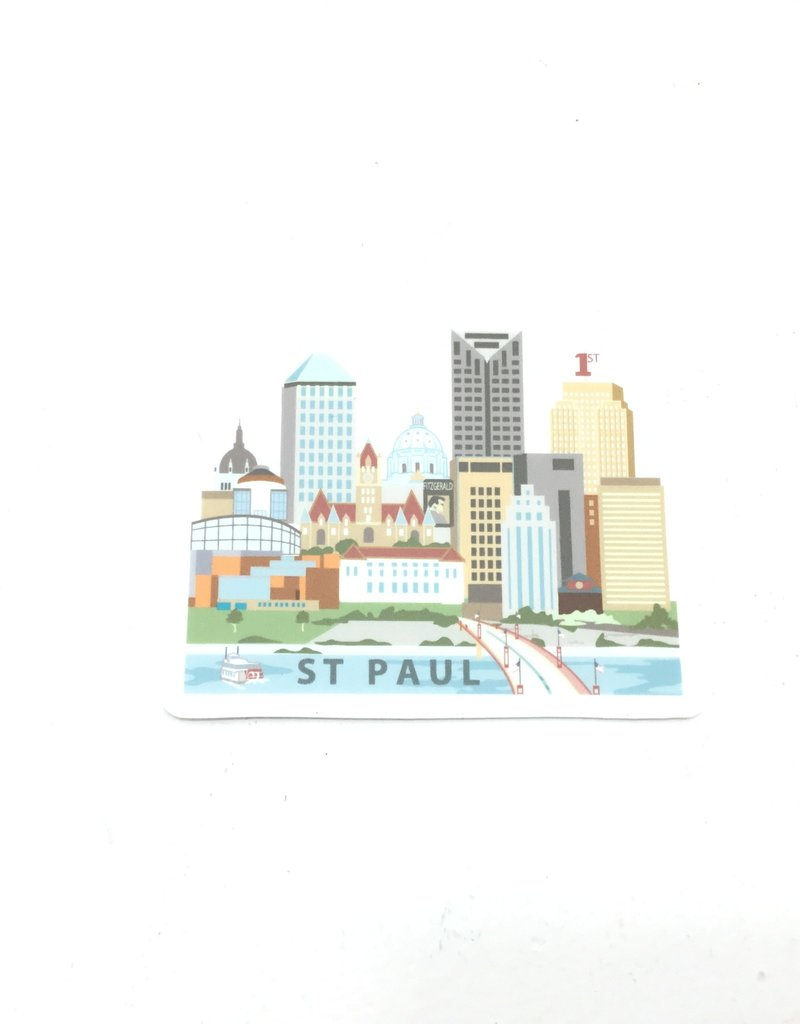 CINDY LINDGREN ST PAUL RIVER VIEW STICKER
