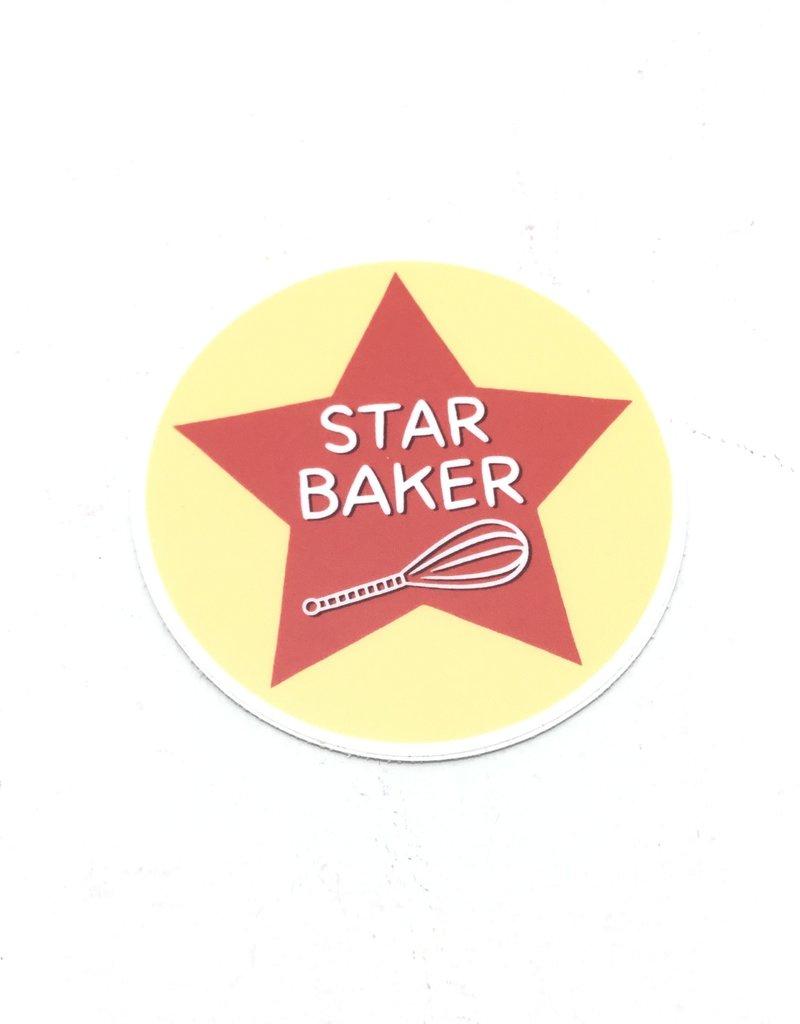 STAR BAKER STICKER