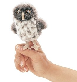 FOLKMANIS MINI SPOTTED OWL PUPPET