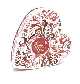 RED SWIRL HEART ASST CHOCOLATES