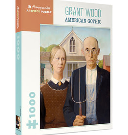 GRANT WOOD AMERICAN GOTHIC 1000 PIECE PUZZLE