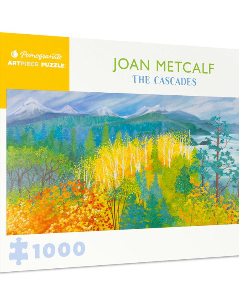 JOAN METCALF: THE CASCADES 1000 PIECE PUZZLE