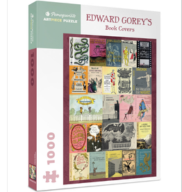 EDWARD GOREY'S BOOK COVERS 1000 PIECE PUZZLE