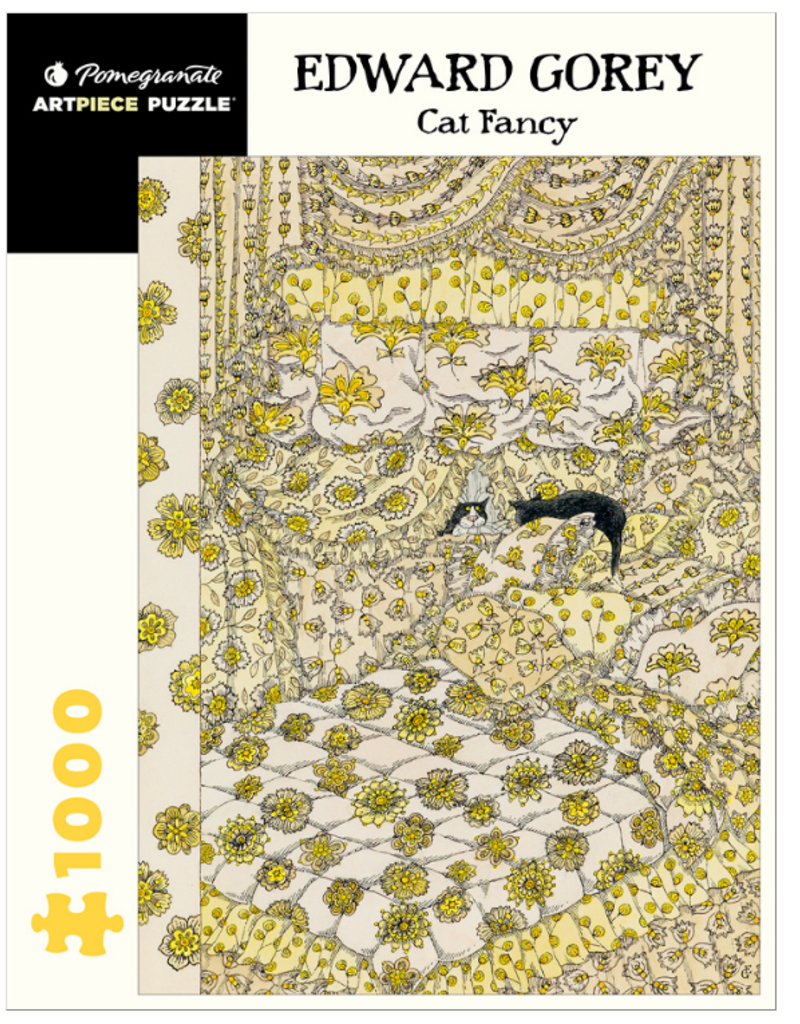 EDWARD GOREY CAT FANCY 1000 PIECE PUZZLE