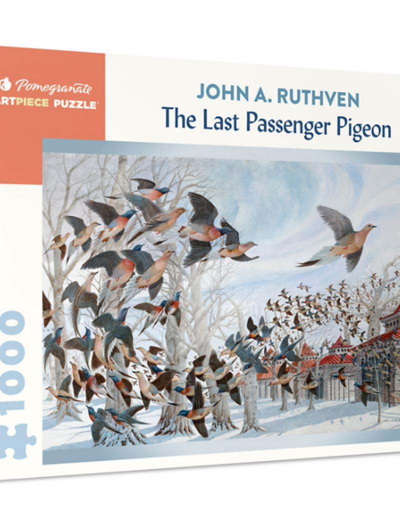 JOHN A RUTHVEN: THE LAST PASSENGER PIGEON 1000