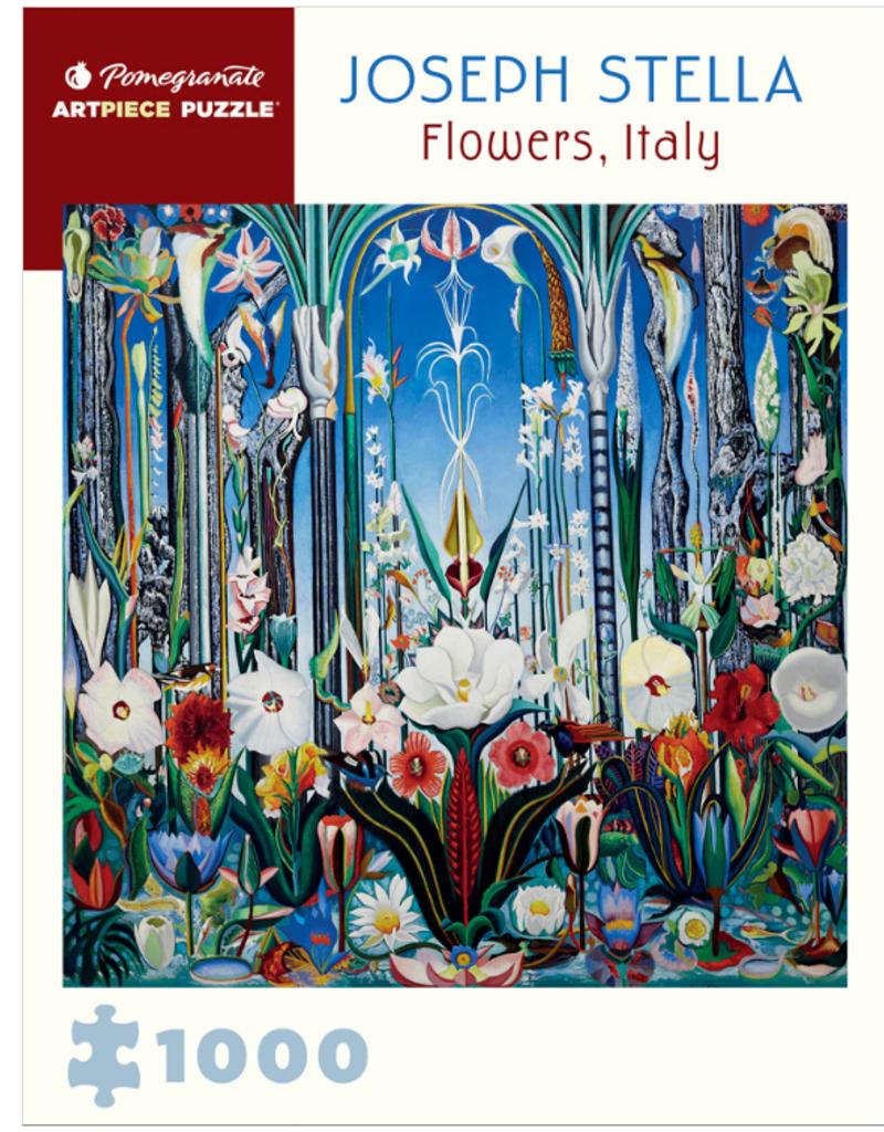 JOSEPH STELLA FLOWERS 1000 PIECE PUZZLE