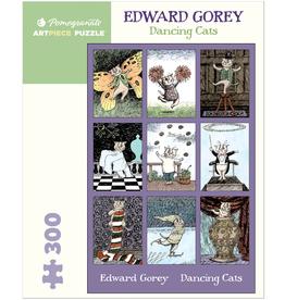 EDWARD GOREY DANCING CATS 300 PIECE PUZZLE