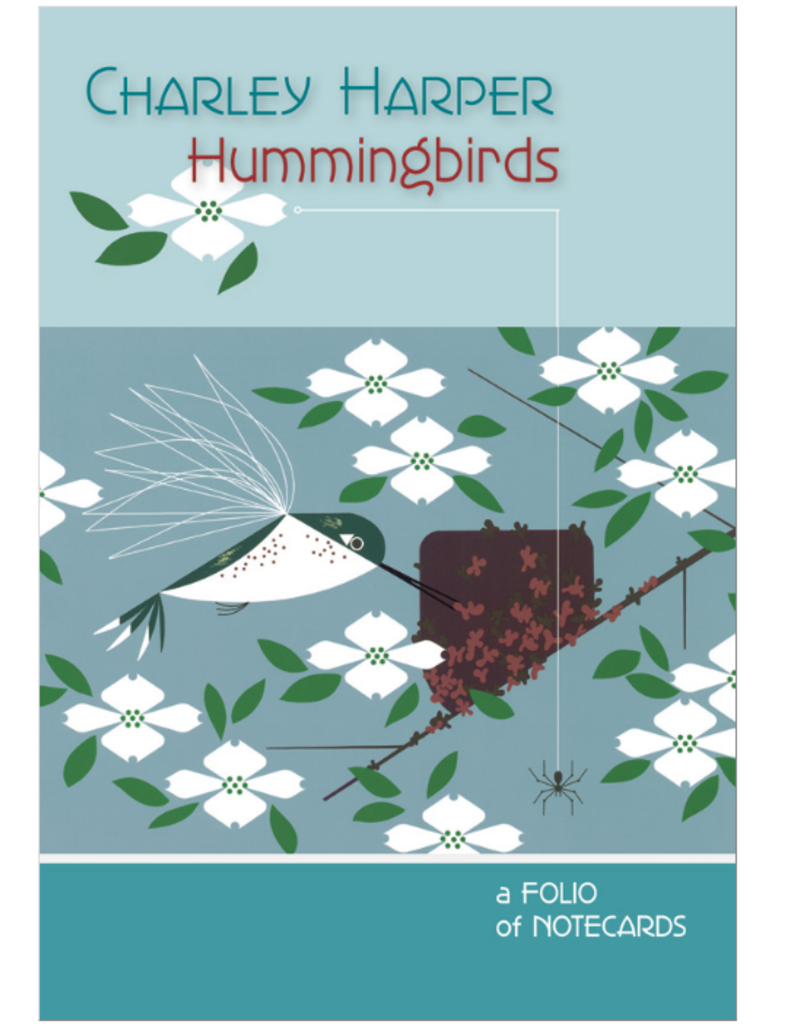 CHARLEY HARPER HUMMINGBIRDS FOLIO CARDS