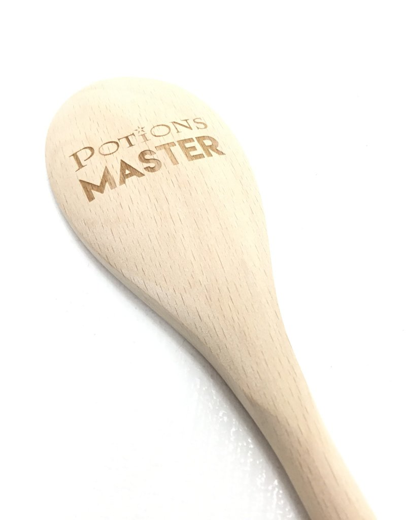 NORTH TO SOUTH DESIGNS POTIONS MASTER WOOD SPOON