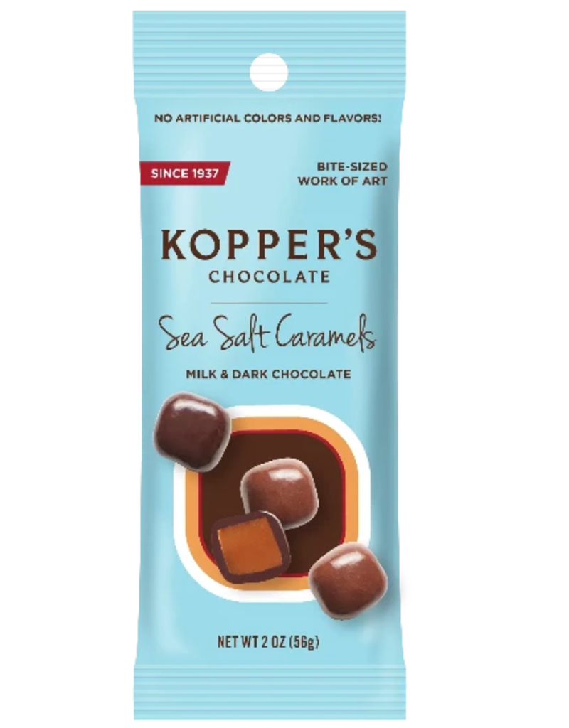 KOPPERS SEA SALT CARAMELS GRAB AND GO