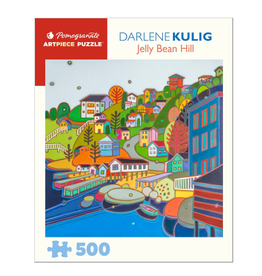 DARLENE KULIG: JELLYBEAN HILL 500 PIECE PUZZLE