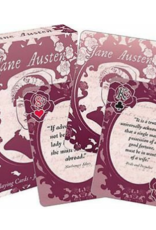 JANE AUSTEN QUOTES PLAYING CARDS
