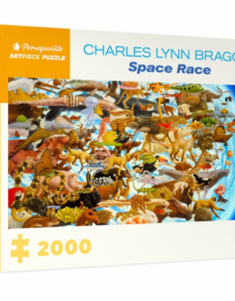 CHARLES LYNN BRAGG SPACE RACE 2000 PIECE PUZZLE