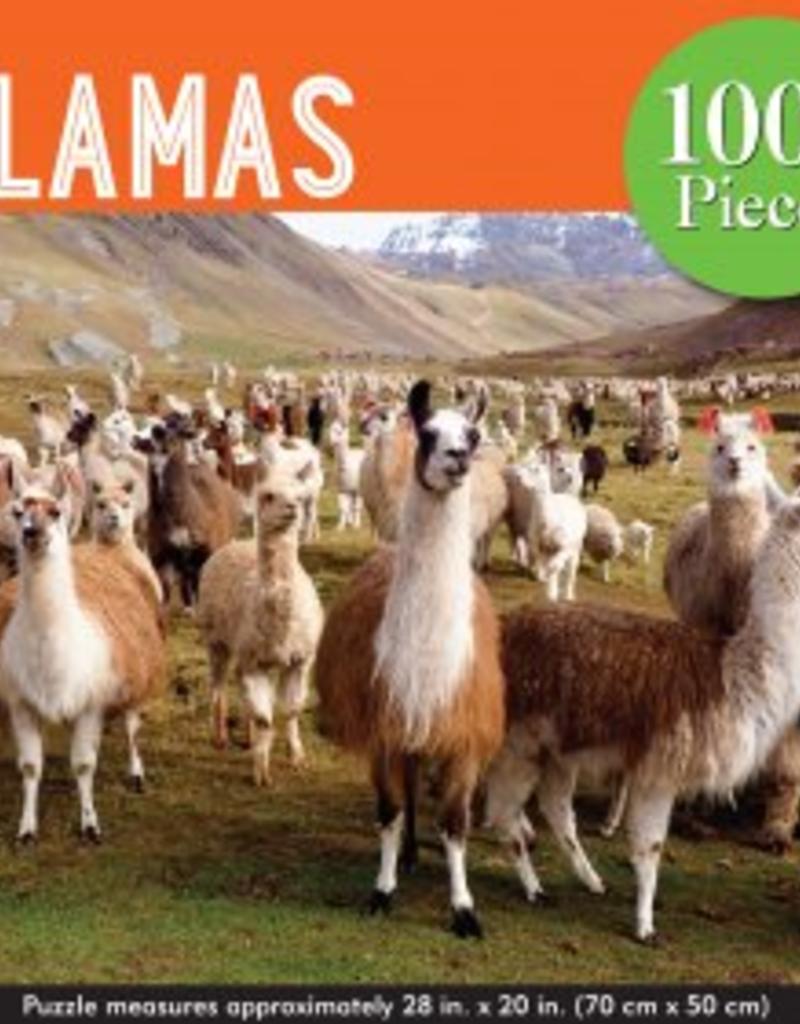 Jigsaw Puzzle: Llamas