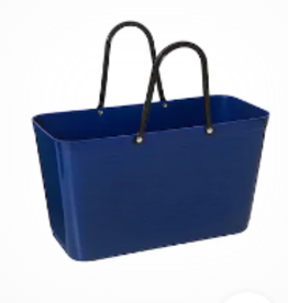 LARGE HINZA TOTE BLUE