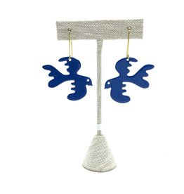 FREE AS A BIRD EARRINGS ROYAL