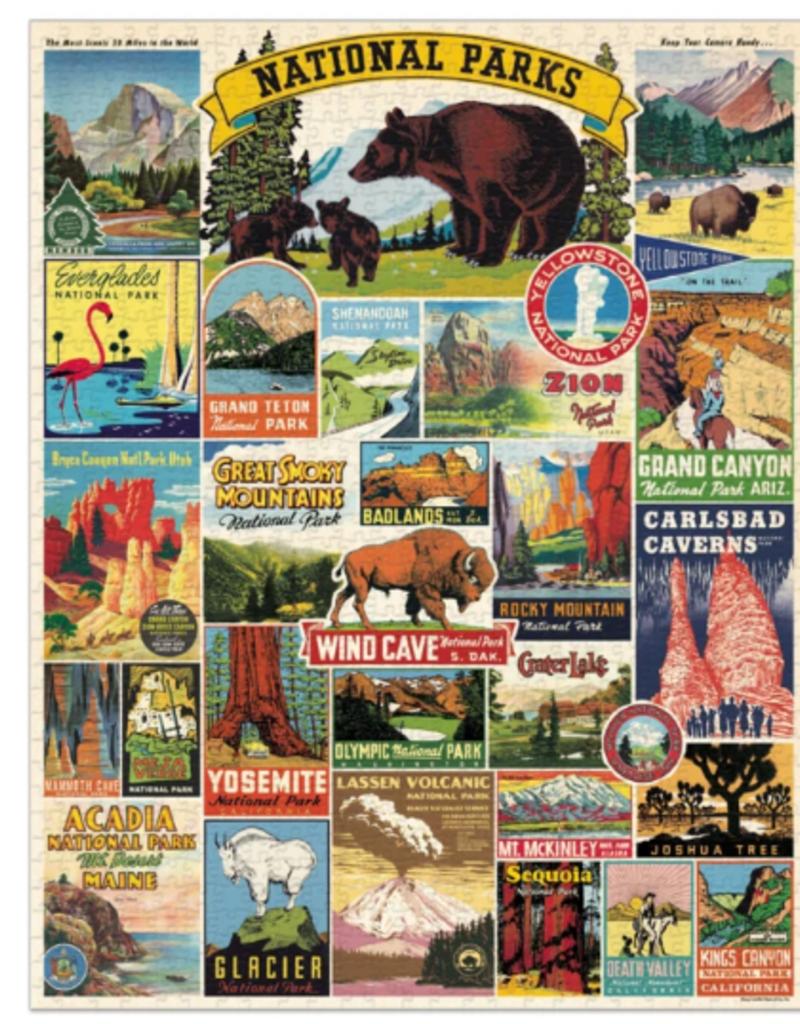 NATIONAL PARKS 1000 PIECE PUZZLE
