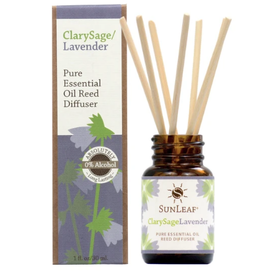 CLARY SAGE LAVENDER 1OZ DIFFUSER