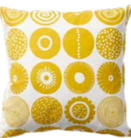 YELLOW CANDY PRINTED PILLOW