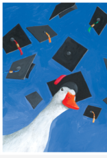 GRADUATE GOOSE GRADUATION CARD