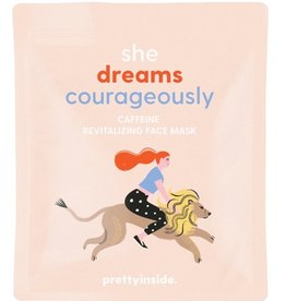 MUSEE SHE DREAMS COURAGEOUSLY FACE MASK