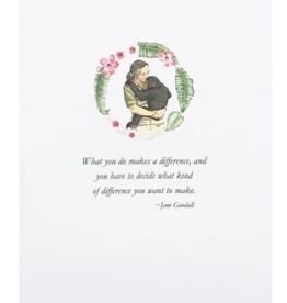 LUMIA DESIGNS Jane Goodall quote cc