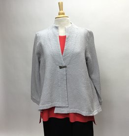 FOCUS ONE BUTTON SWING JACKET
