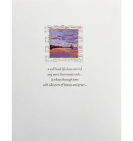LUMIA DESIGNS MUSIC SYMPATHY CARD