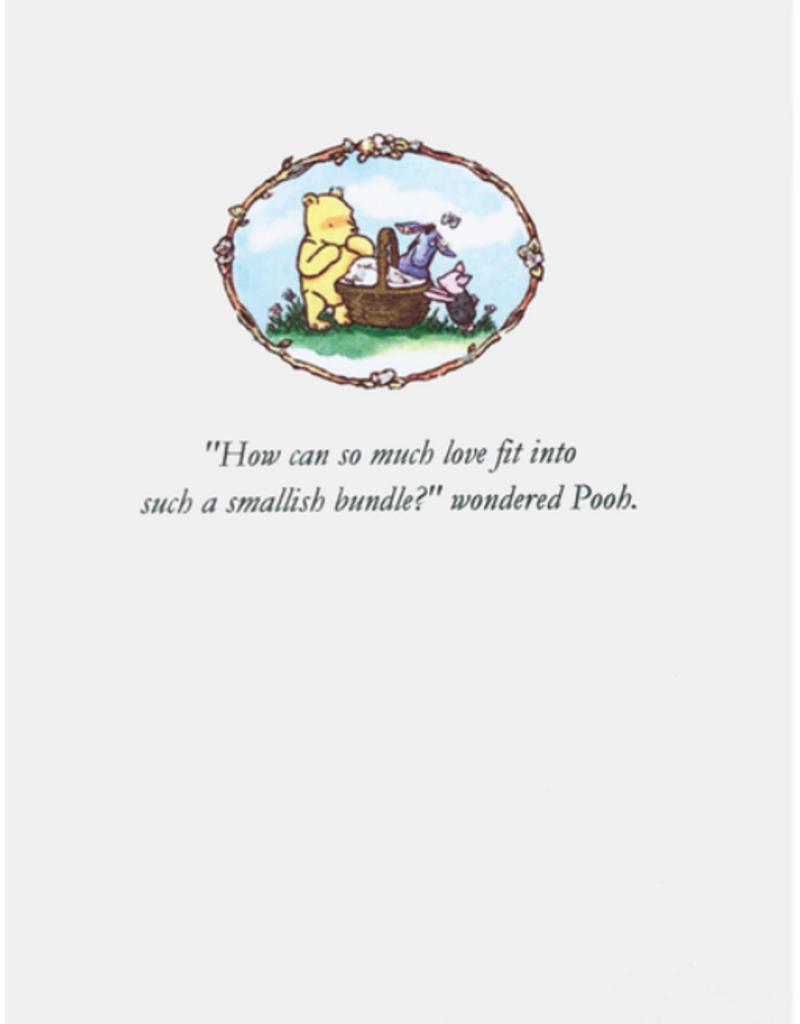 LUMIA DESIGNS POOH BEAR BABY CARD