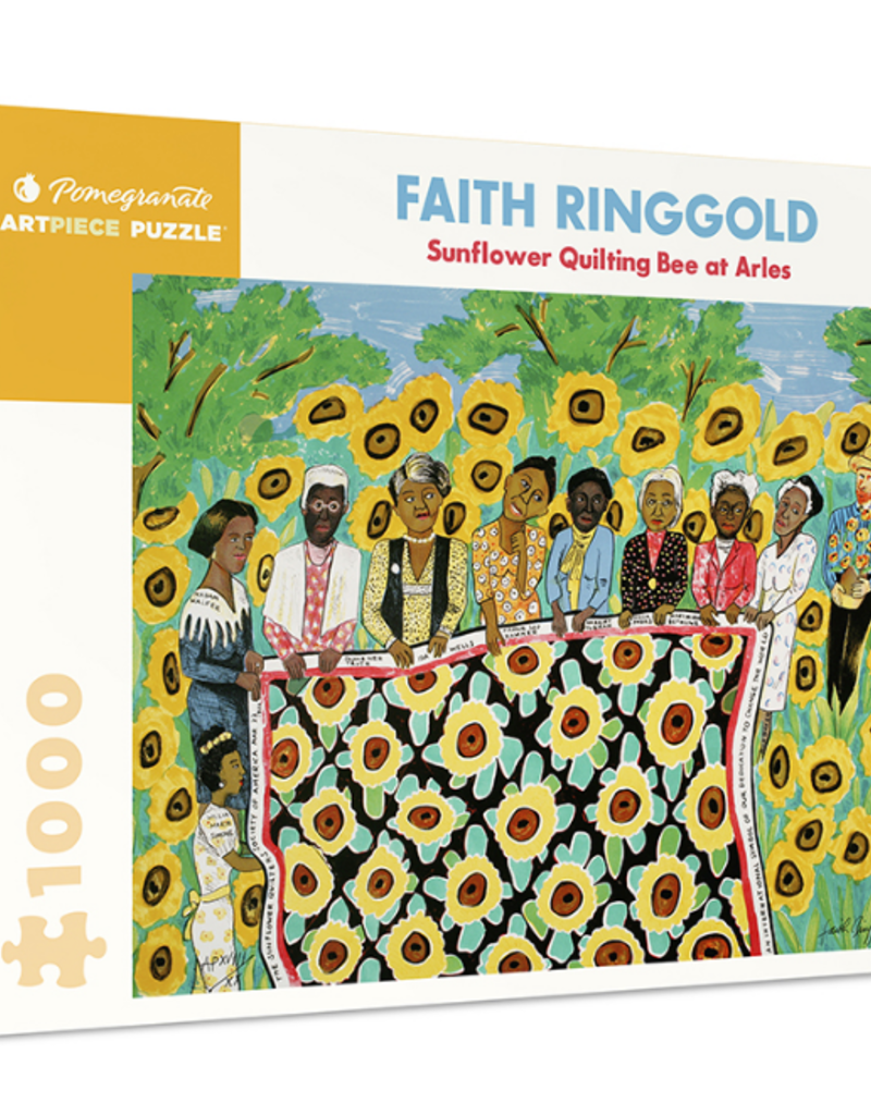 FAITH RINGGOLD SUNFLOWER QUILTING BEE AT ARLES 1000 PIECE