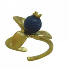 BLUEBERRY ADJUSTABLE RING
