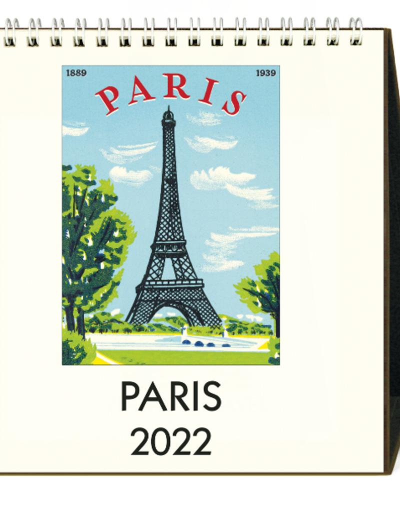 PARIS DESK CALENDAR 2022