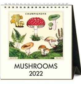 MUSHROOMS DESK CALENDAR 2022