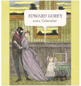 EDWARD GOREY 2022 WALL CALENDAR