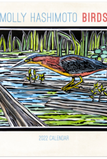 MOLLY HASHIMOTO BIRDS WALL CALENDAR  2022