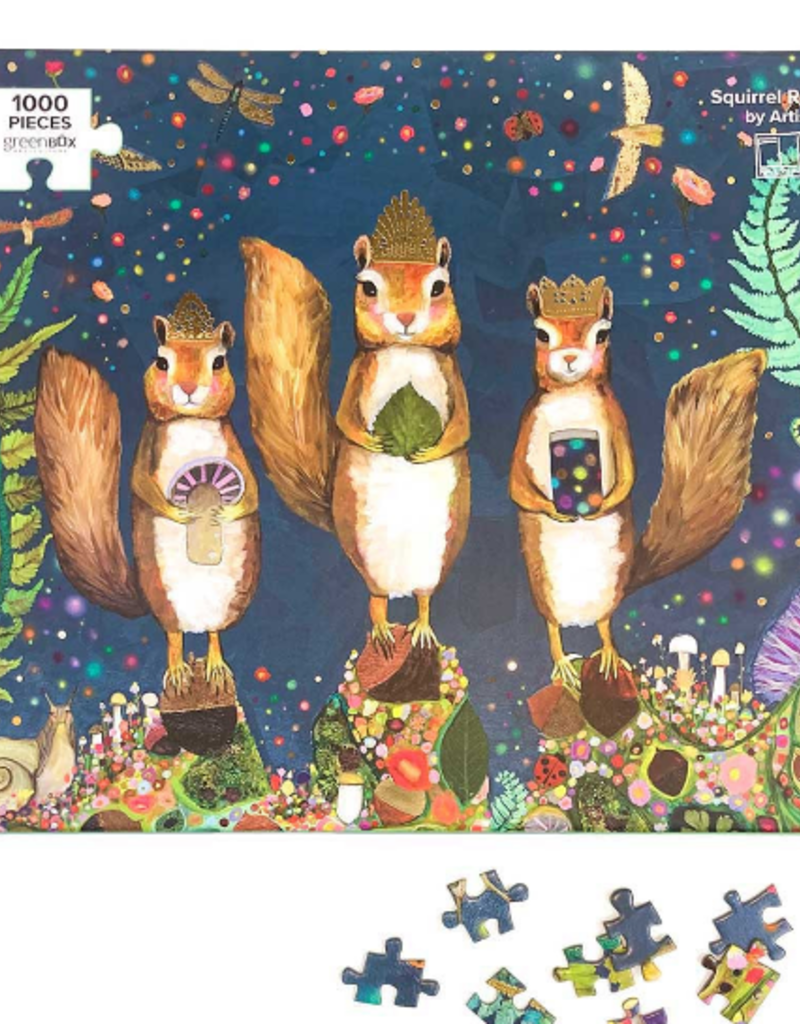 GREENBOX ART SQUIRREL ROYALE PUZZLE