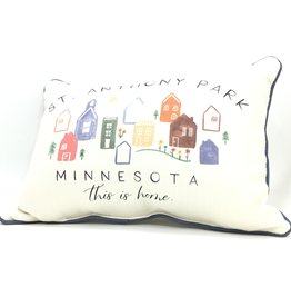 THIS IS HOME ST ANTHONY PARK PILLOW